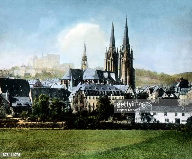 The St Elizabeth church in the city of Marburg Hesse