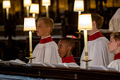 windsor england st georges chapel choir