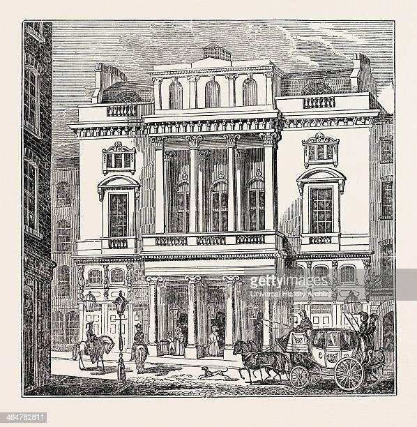 The St. James's Theatre, West End; London; Uk.