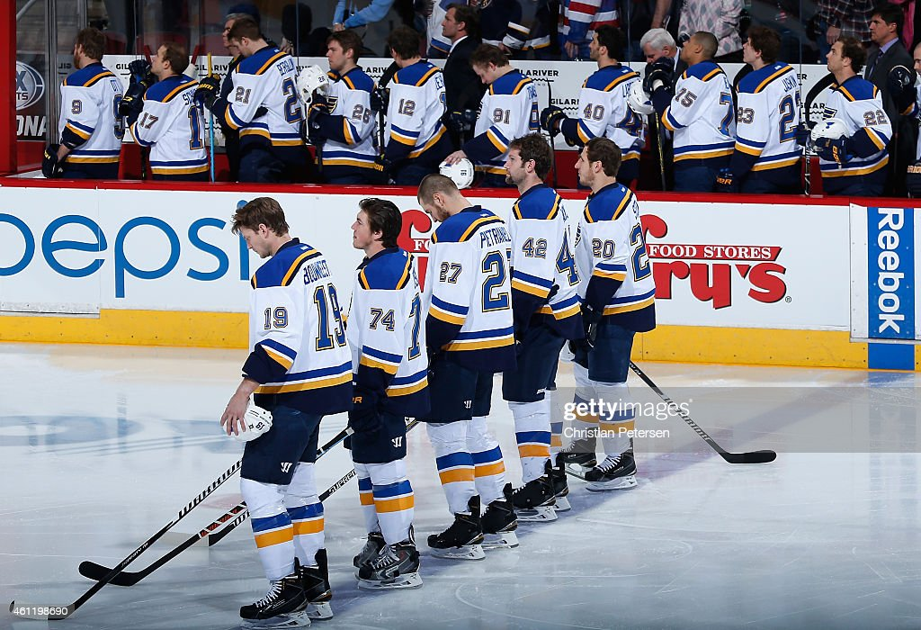 St Louis Blues v Arizona Coyotes : News Photo