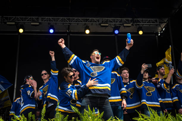 MO: St Louis Blues Victory Parade & Rally