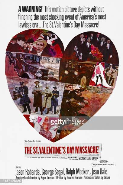The St Valentine's Day Massacre poster 1967