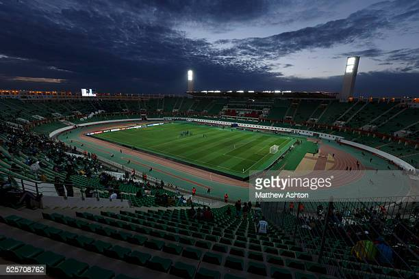 The Stade Adrar Stadium Adrar in Agadir Morocco home of Hassania Agadir venue of the FIFA Club World Cup 2013