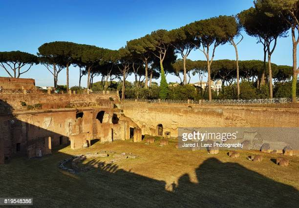The Stadium (Hippodrome) of Domitian on Palatine Hill 2 (Rome)