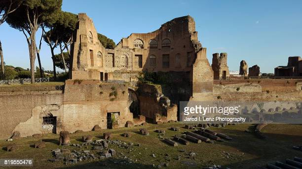 The Stadium (Hippodrome) of Domitian on Palatine Hill (Rome)