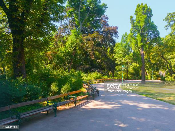 The Stadtpark (City Park) in Vienna, Austria