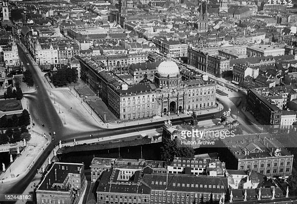 The Stadtschloss or City Palace on the River Spree in Berlin Germany circa 1925 It was damaged during World War II and demolished in 1950 The...