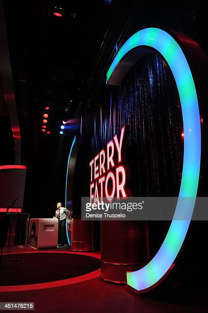 The stage at Terry Fator's one year anniversary show at The Mirage Hotel and Casino on March 13 2010 in Las Vegas Nevada