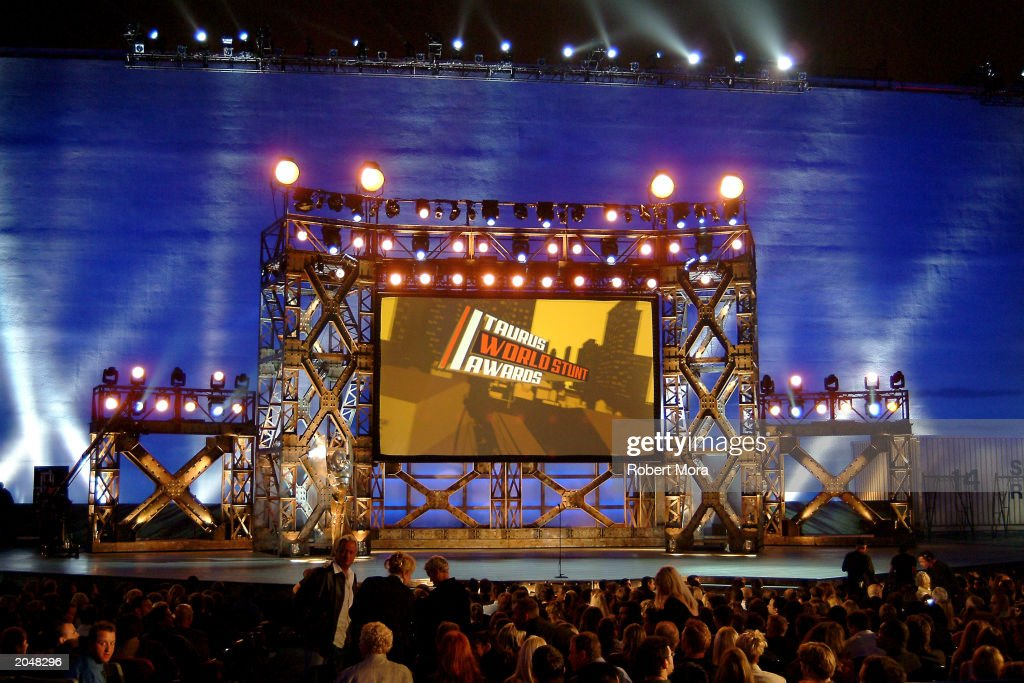 The stage at the 3rd Annual Taurus World Stunt Awards at Paramount Studios June 1, 2003 in Hollywood, California. The show will air Monday, June 9th, 8:00 pm EST/PST on the USA Network.