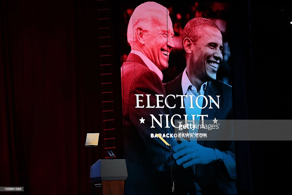 President Obama Holds Election Night Event In Chicago : News Photo