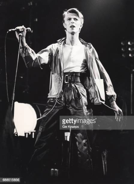 The Stage Tour David Bowie Vorst Natonaal Brussels Belgium