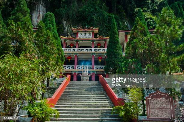 TEMPLE IPOH PERAK MALAYSIA The staircase seen in front of the Perak Tong temple Perak Tong cave temple was discovered in 1926 by Chong Sen Yee and...