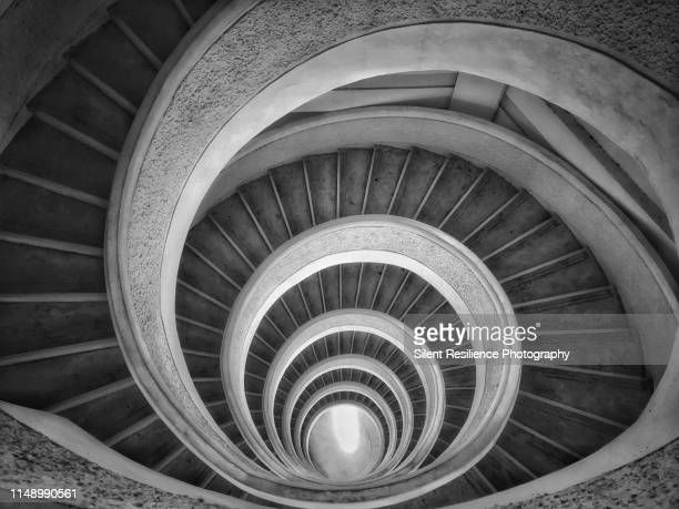 the stairway - iris - resilience stock photos and pictures