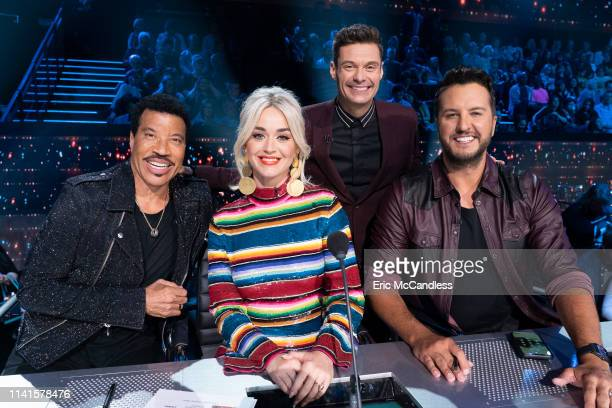 """The stakes are high as the remaining """"American Idol"""" finalists sing their hearts out in hopes of winning America's vote and advancing to the next..."""