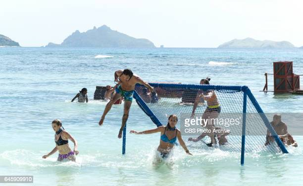 The Stakes Have Been Raised Andrea Boehlke Oscar Ozzy Lusth Sierra DawnThomas Sarah Lacina and Tai Trang on SURVIVOR Game Changers The Emmy...