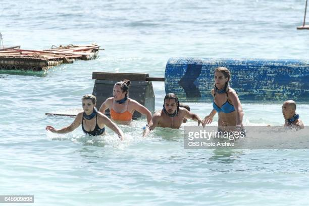 The Stakes Have Been Raised Andrea Boehlke Sarah Lacina Troyzan Robertson Sierra DawnThomas and Tai Trang on SURVIVOR Game Changers The Emmy...