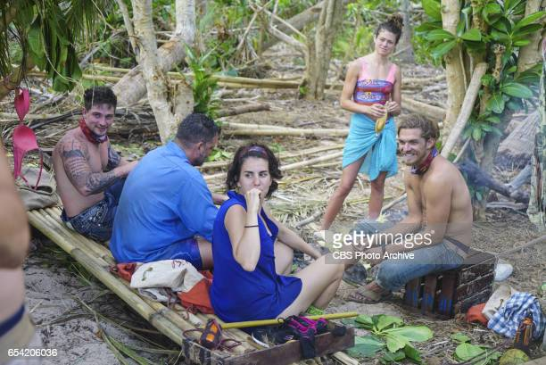 'The Stakes Have Been Raised' Caleb Reynolds Jeff Varner Aubry Bracco Hali Ford and Malcolm Freberg on SURVIVOR Game Changers The Emmy Awardwinning...