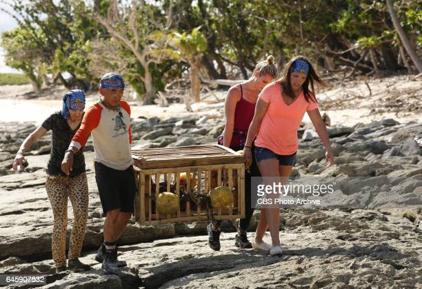 The Stakes Have Been Raised Debbie Wanner Tai Trang Andrea Boehlke and Sarah Lacina on SURVIVOR Game Changers The Emmy Awardwinning series returns...