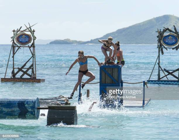 The Stakes Have Been Raised Sierra DawnThomas Andrea Boehlke and Sarah Lacina on SURVIVOR Game Changers The Emmy Awardwinning series returns for its...