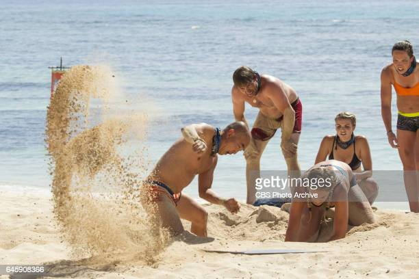 The Stakes Have Been Raised Tai Trang James JT Thomas Sierra DawnThomas Andrea Boehlke and Sarah Lacina on SURVIVOR Game Changers The Emmy...