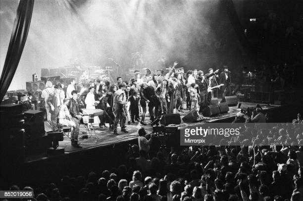 AIDS Day Benefit concert at Wembley Arena London 1st April 1987