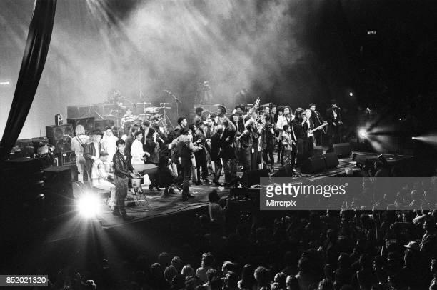 Day Benefit concert at Wembley Arena, London, 1st April 1987.