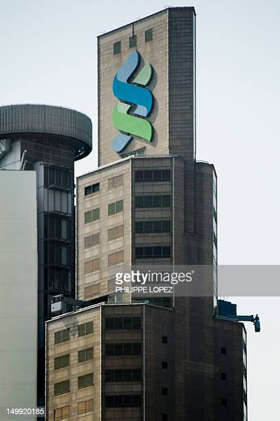 The Standard Chartered Bank building is seen in Hong Kong on August 7 2012 Banking giant Standard Chartered on August 7 rejected US regulator's claim...