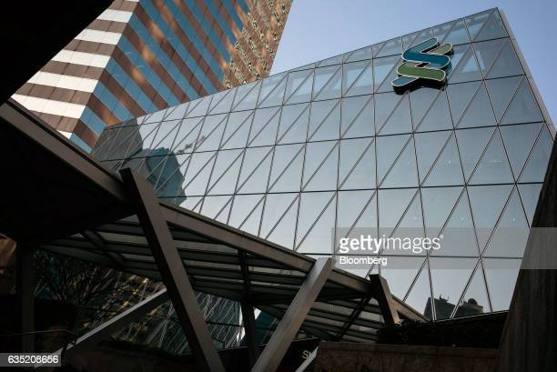The Standard Chartered Wealth Management Centre stands in Hong Kong China on Monday Feb 13 2017 Standard Chartered is scheduled to release earnings...