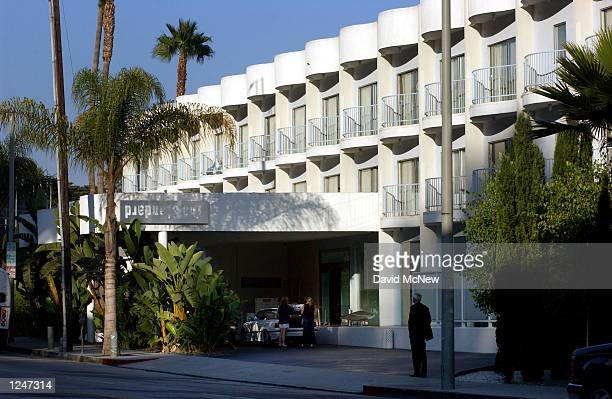The Standard hotel is shown on July 29, 2002 in West Hollywood, California.