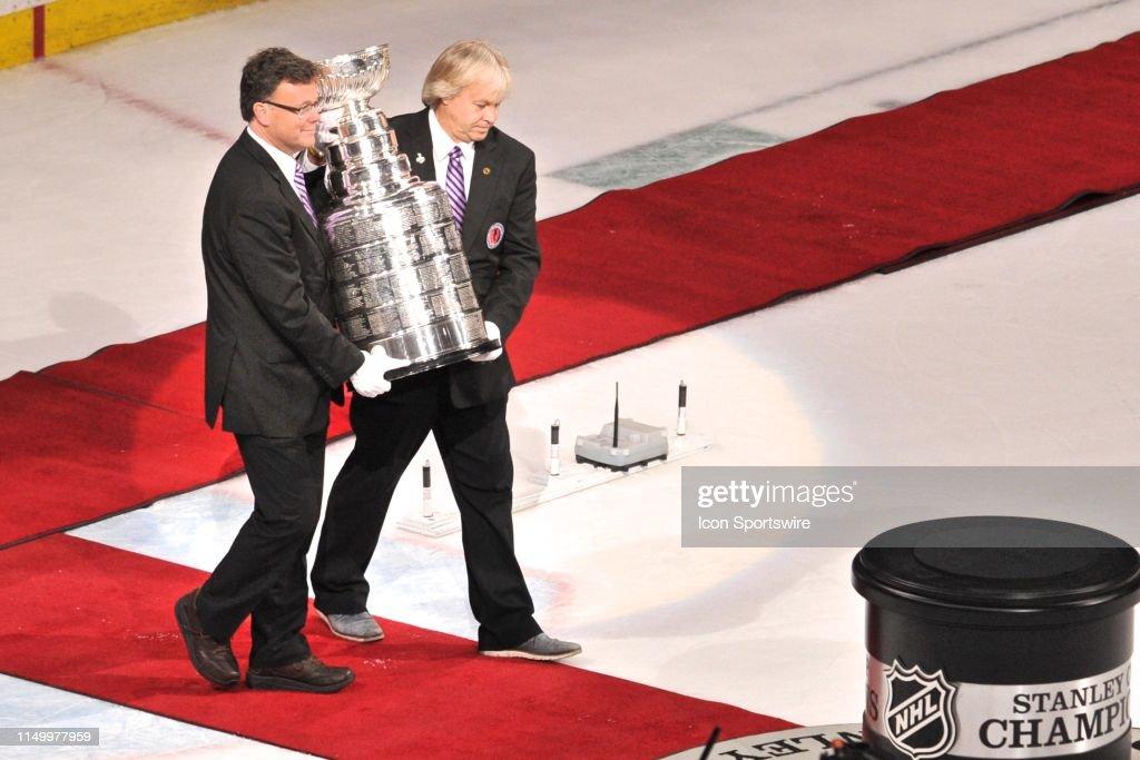 NHL: JUN 12 Stanley Cup Final - Blues at Bruins : News Photo