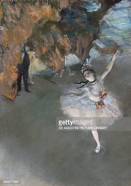 The Star 187677 by Edgar Degas pastel on paper 60x44 cm Paris Musée D'Orsay