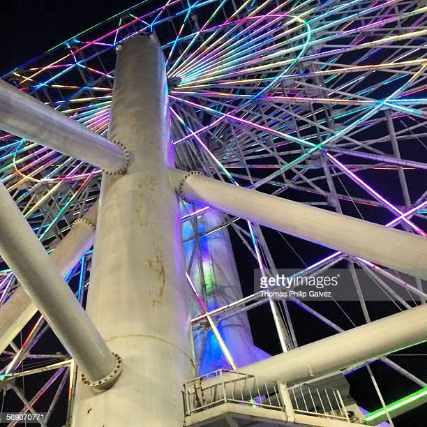 The Star City Wheel in Manila Philippines