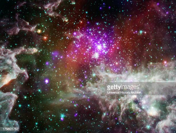 The star cluster NGC 281 is located about 6,500 light years from Earth and, remarkably, almost 1,000 light years above the plane of the galaxy....