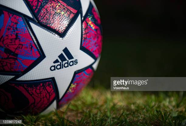 The Starball the official Adidas UEFA Champions League Match Ball for the season 2019/2020 on May 5 2020 in Manchester England