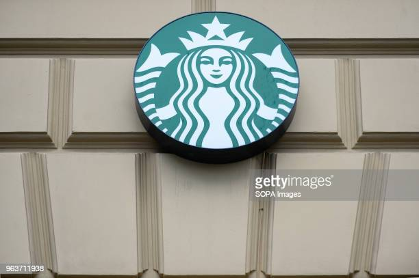 The Starbucks logo seen in Krakow American chain Starbucks closed more than 8000 stores in the USA on May 29 afternoon to provide racialbias...