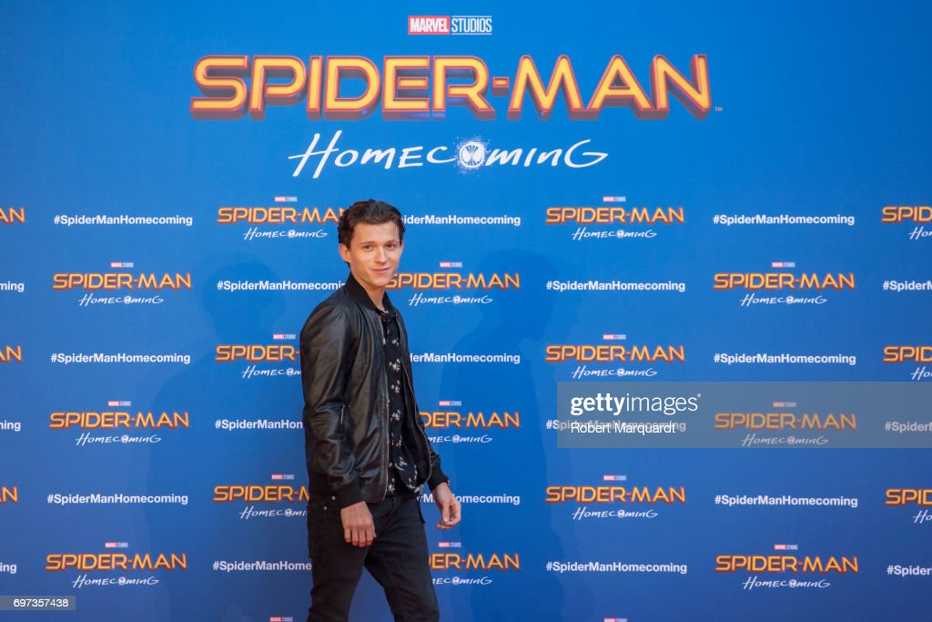 "Barcelona Photo Call - ""SPIDER-MAN: HOMECOMING"" : News Photo"