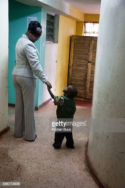 The Stars Foundation visiting Childline Kenya in Nairobi At one of Childline Kenya's referral partners This little boy has just arrived from court...