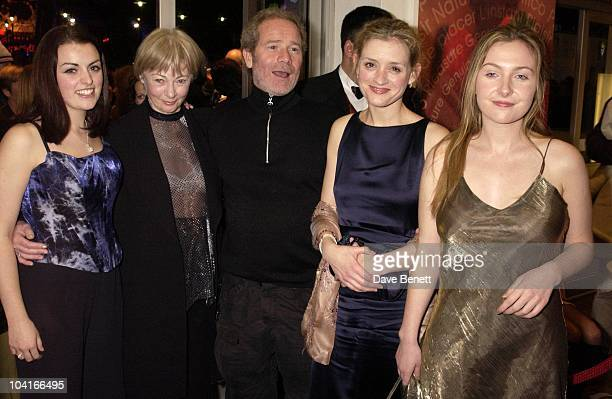The Stars Of Movie Anne Marie Duff Nora Jane Noone Dorothy Duffy And Geraldine Mcewan With Director Peter Mullen Magdalene Sisters Screening At The...