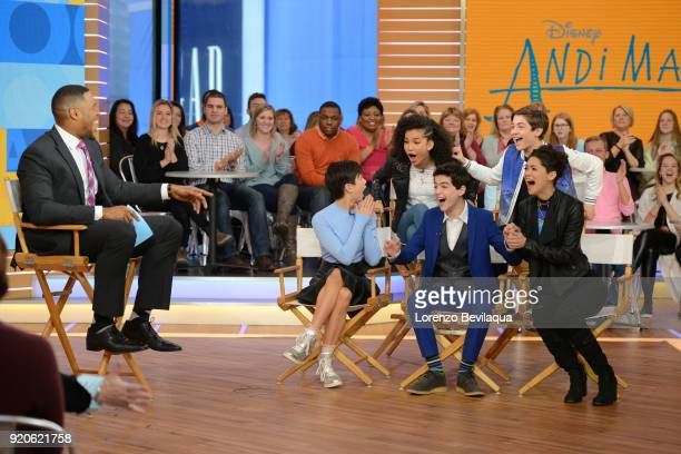 AMERICA The stars of the Disney Channel series 'Andi Mack' were interviewed on ABC's 'Good Morning America' on Monday February 19 2018 At the end of...