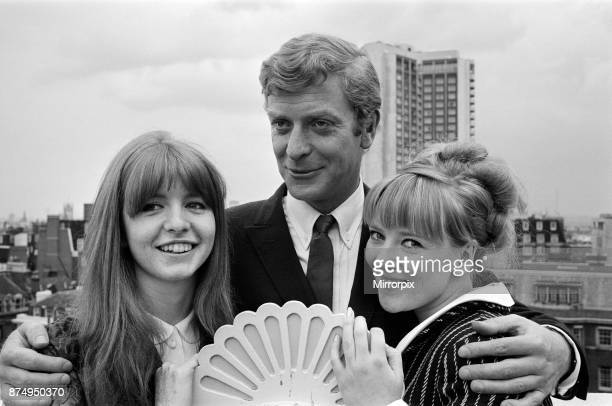 The stars of the film 'Alfie' Vivien Merchant, Jane Asher, Michael Caine and Julia Foster, 4th July 1965.