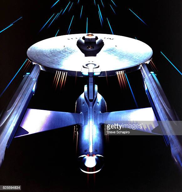 The Starship Enterprise from Star Trek