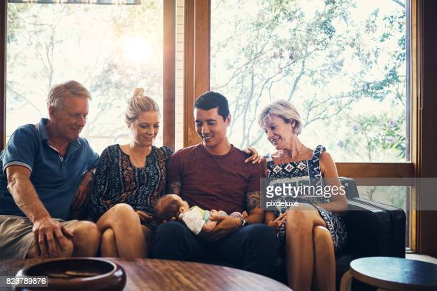 the start of one big happy family - visit stock pictures, royalty-free photos & images