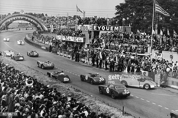 The start of the 24 hour Le Mans race 16th June 1952