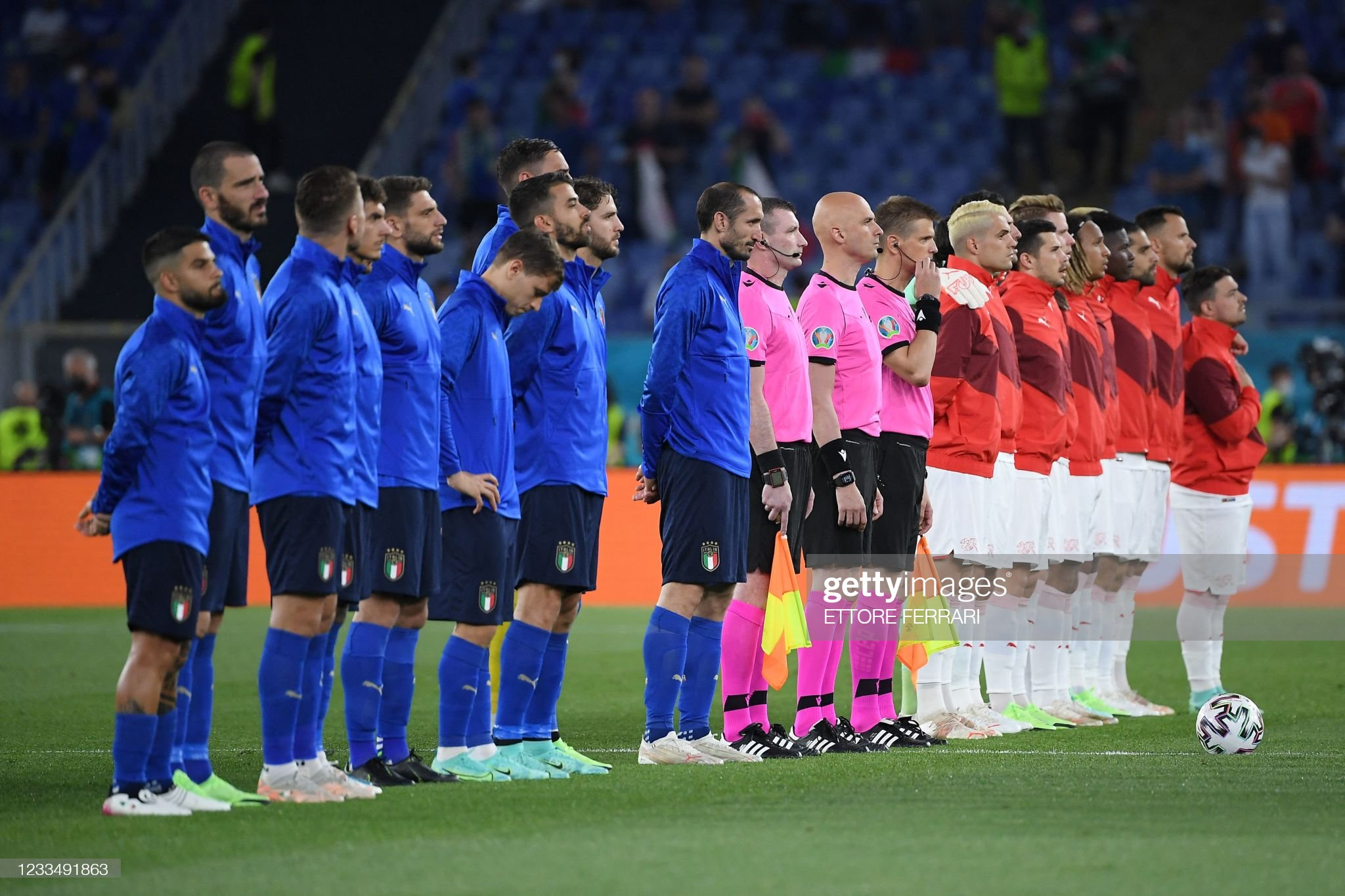 FBL-EURO-2020-2021-MATCH14-ITA-SUI : News Photo