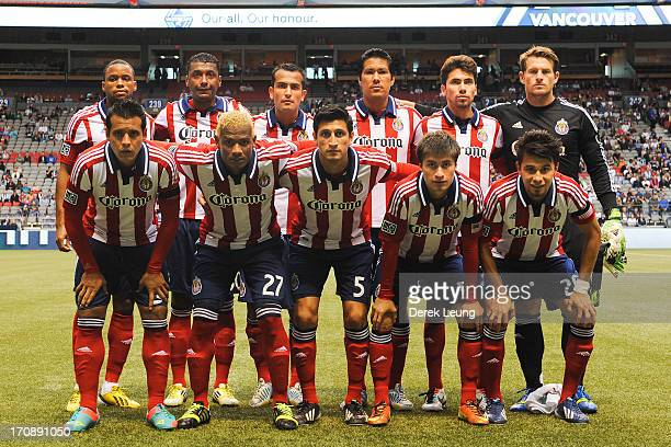 eda2e43b2 The starting eleven of Chivas USA pose for a photo prior to their match  against the