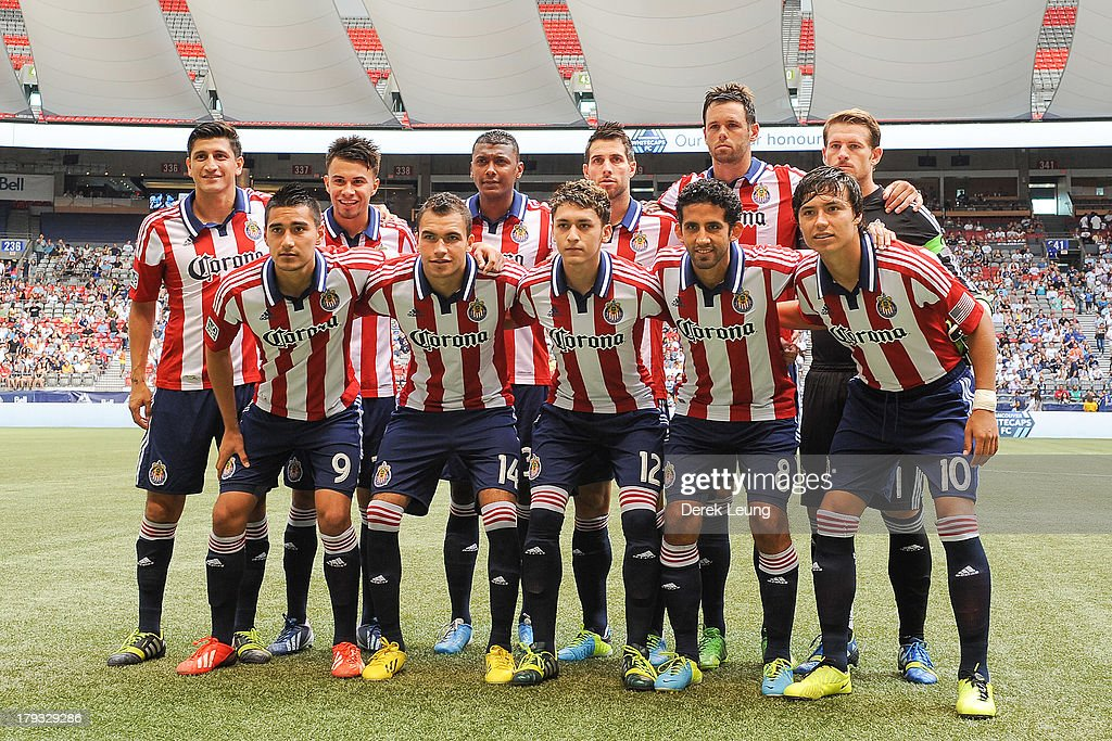 76e58cf2c The starting eleven of Chivas USA pose for a photo prior to their ...