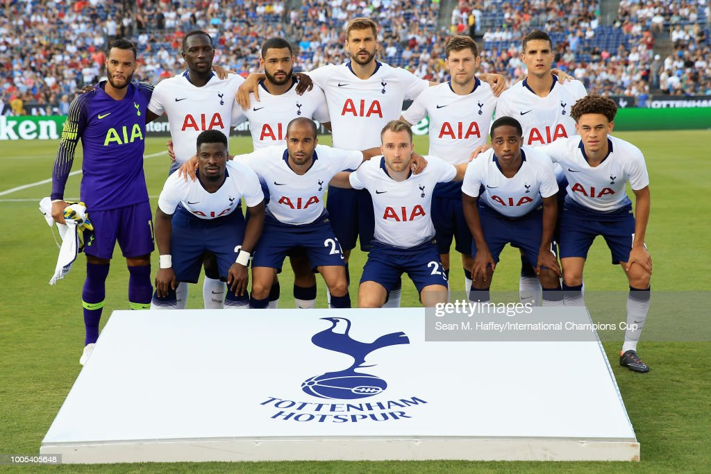 AS Roma v Tottenham Hotspur - International Champions Cup 2018 : News Photo