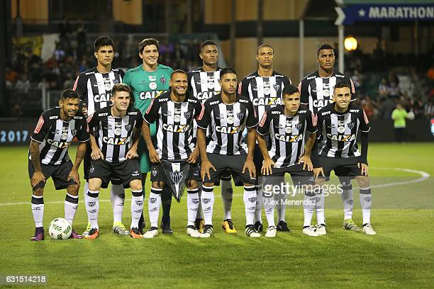 The starting lineup for Clube Atletico Mineiro is seen at ESPN Wide World of Sports Complex on January 11 2017 in Kissimmee Florida