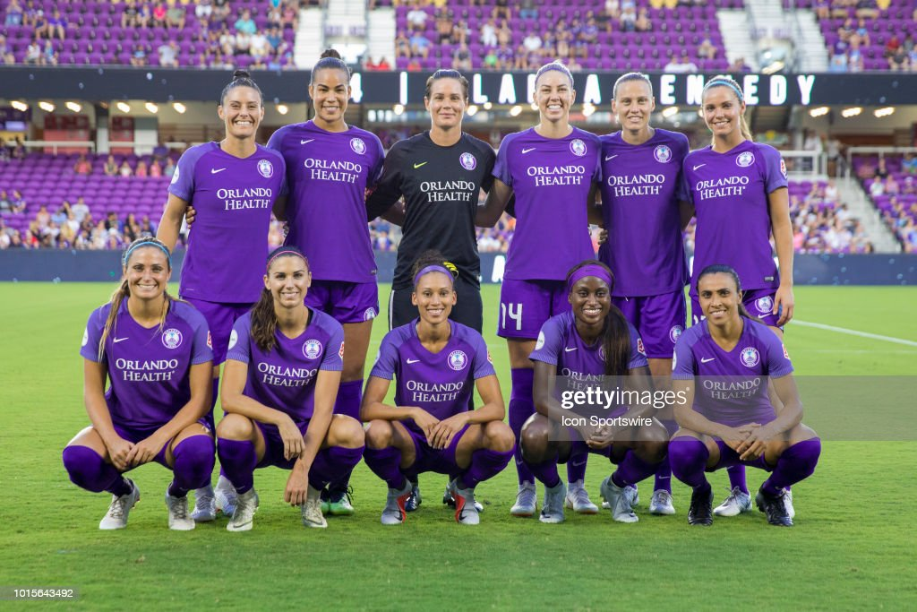 SOCCER: AUG 11 NWSL - Portland Thorns at Orlando Pride : News Photo