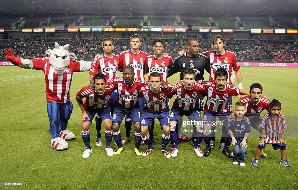 d74a2b857 The starting XI of Chivas USA pose for a group photo prior to their ...
